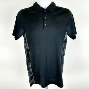 Oakley Hydrolix Men's Polo Shirt Size Small Black
